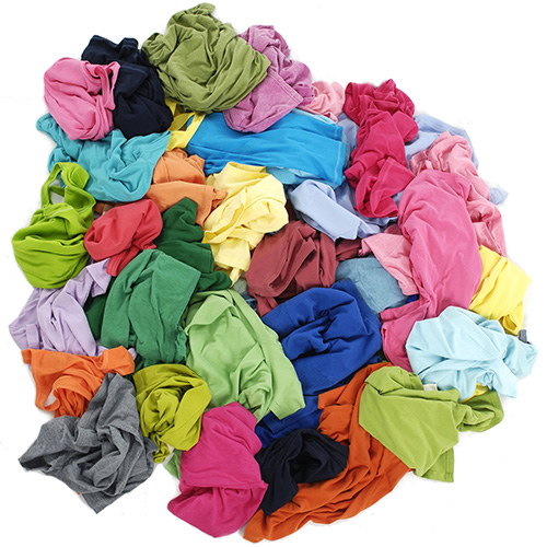 A pile of rags