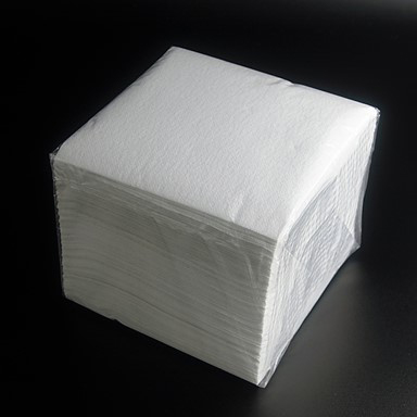 A stack of low lint cloths