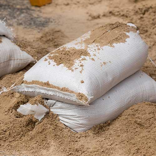 Polypropylene sand bag