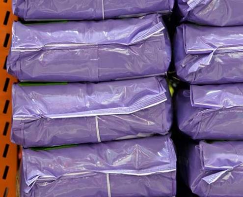 Colored BOPP bags