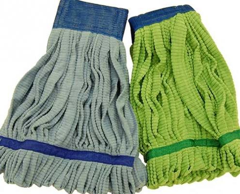 microfiber tube mop cloth