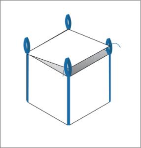 flap top FIBC bulk bag option