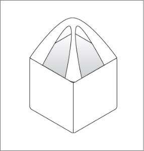 single point handle FIBC bulk bag option