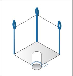 spout bottom FIBC bulk bag option