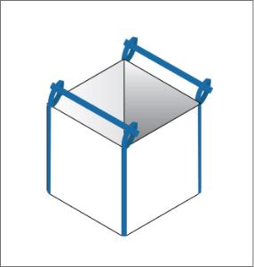 Stevedore strap FIBC bulk bag option