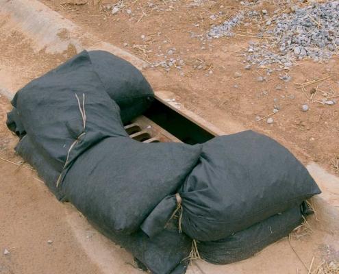 Silt trap bags