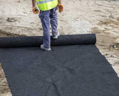 non-woven Geo-textile Fabric rolls