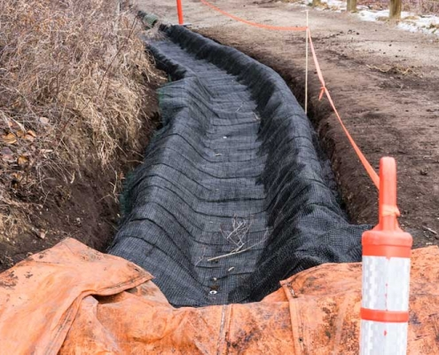 Erosion Prevention Geotextile Fabric mats